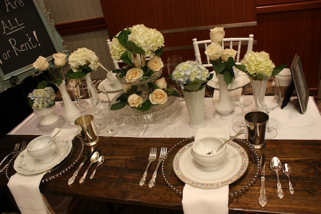 southern events rental weddings table design
