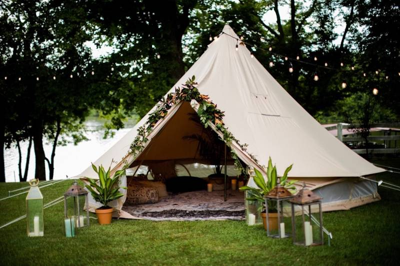 Nashville Bell Tents for Events