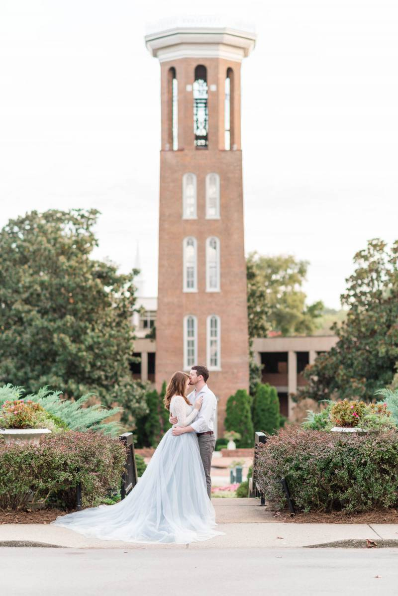 Belmont Engagement Session by Sweet Williams Photography featured on Nashville Bride Guide