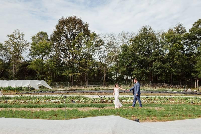 wedding at old school farm
