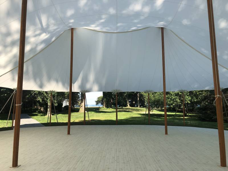 What is a Sailcloth Tent? Find them at Liberty Party Rental!