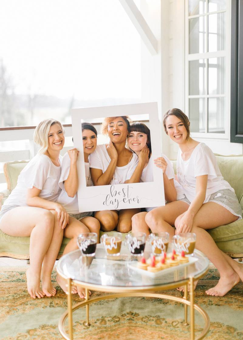 Getting Ready Styled Inspiration with David's Bridal featured on Nashville Bride Guide!