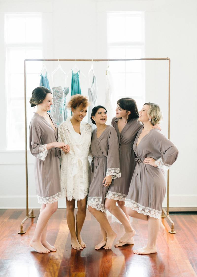 Getting Ready Styled Inspiration styled by Glamour and Grace featured on Nashville Bride Guide!