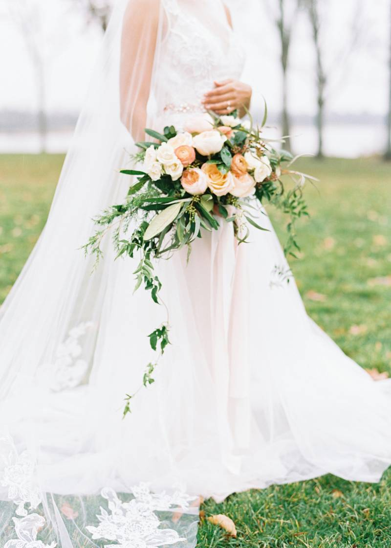 Getting Ready Styled Inspiration with David's Bridal styled by Glamour and Grace featured on Nashville Bride Guide!