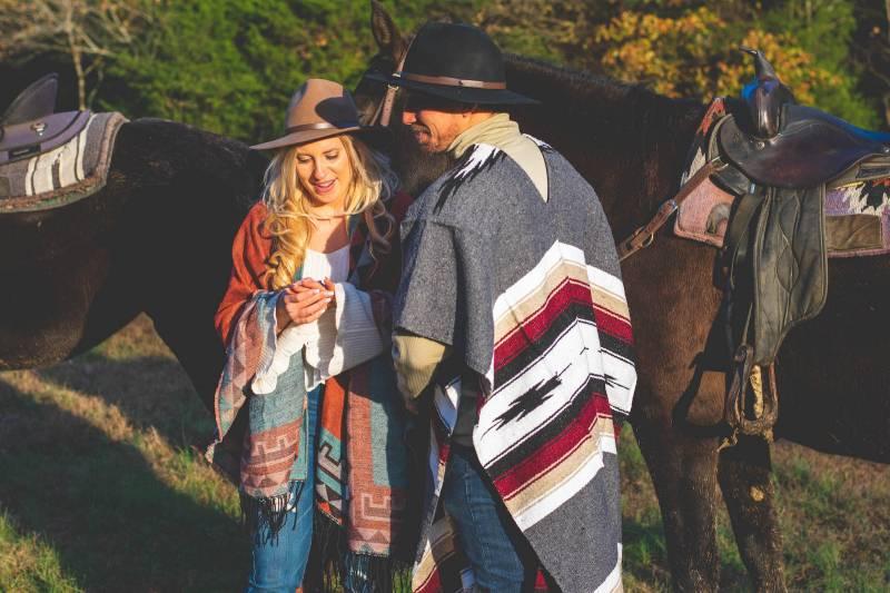 Ariel + Joel's Horseback Riding Proposal |  Nashville, TN Engagement Session featured on Nashville Bride Guide