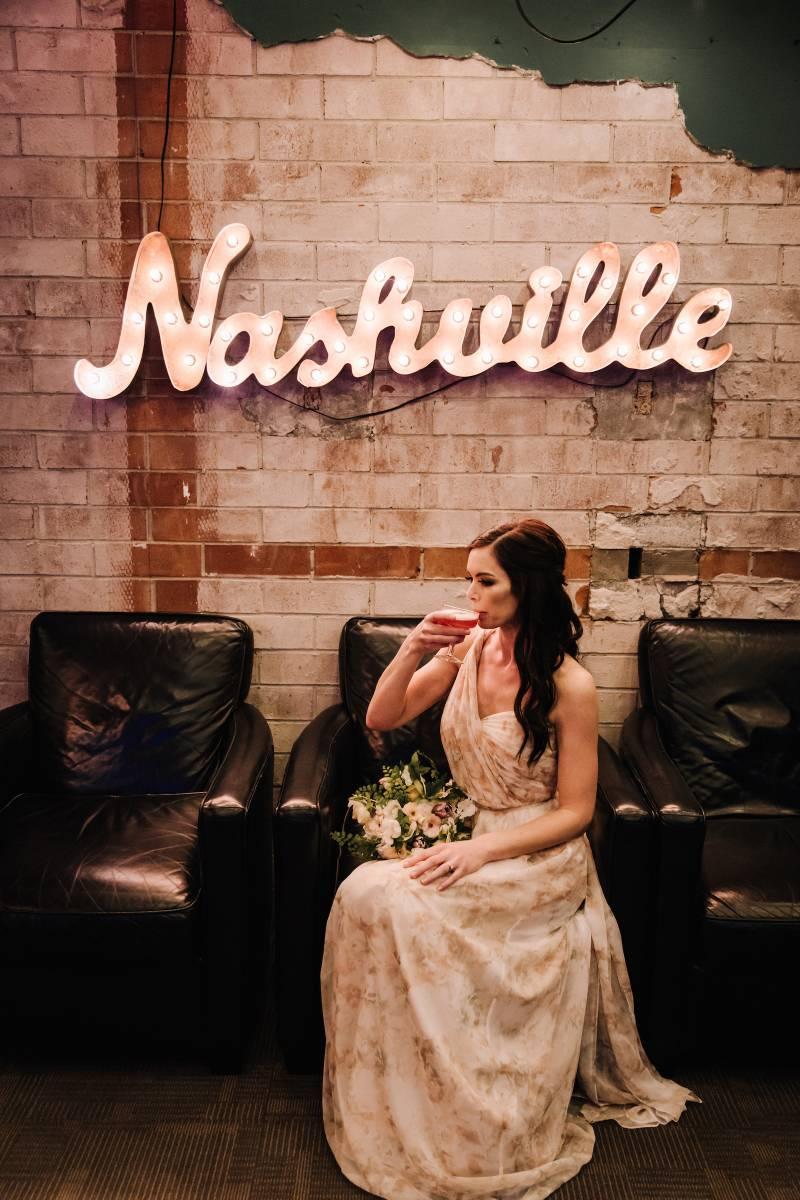 Living Coral Wedding Inspiration on Today in Nashville from Nashville Bride Guide