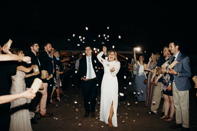 Cool Springs House Wedding Exit