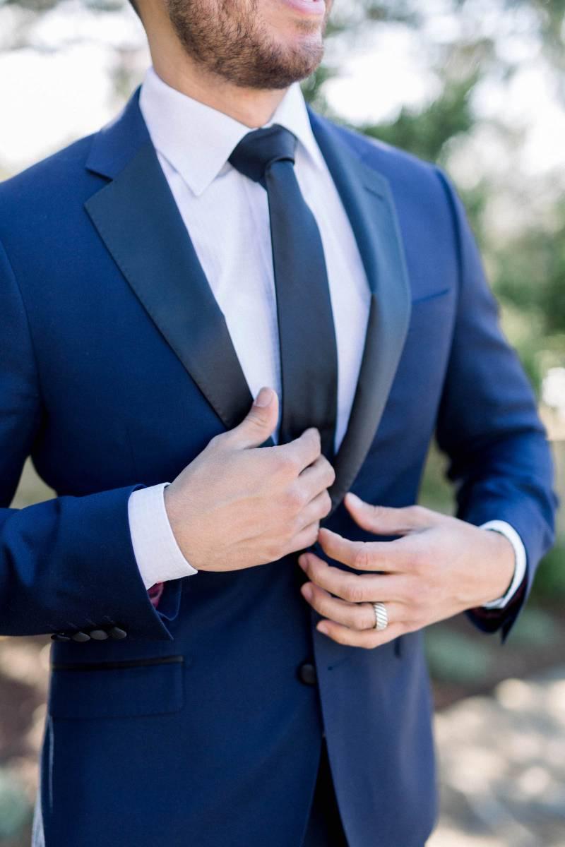 Groomsmen fashion: Elegant southern mansion wedding inspiration featured on Nashville Bride Guide