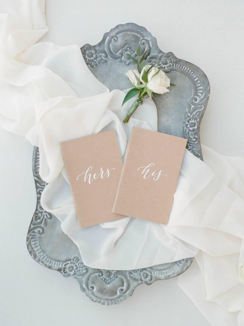 Wedding stationery: Elegant southern mansion wedding inspiration featured on Nashville Bride Guide