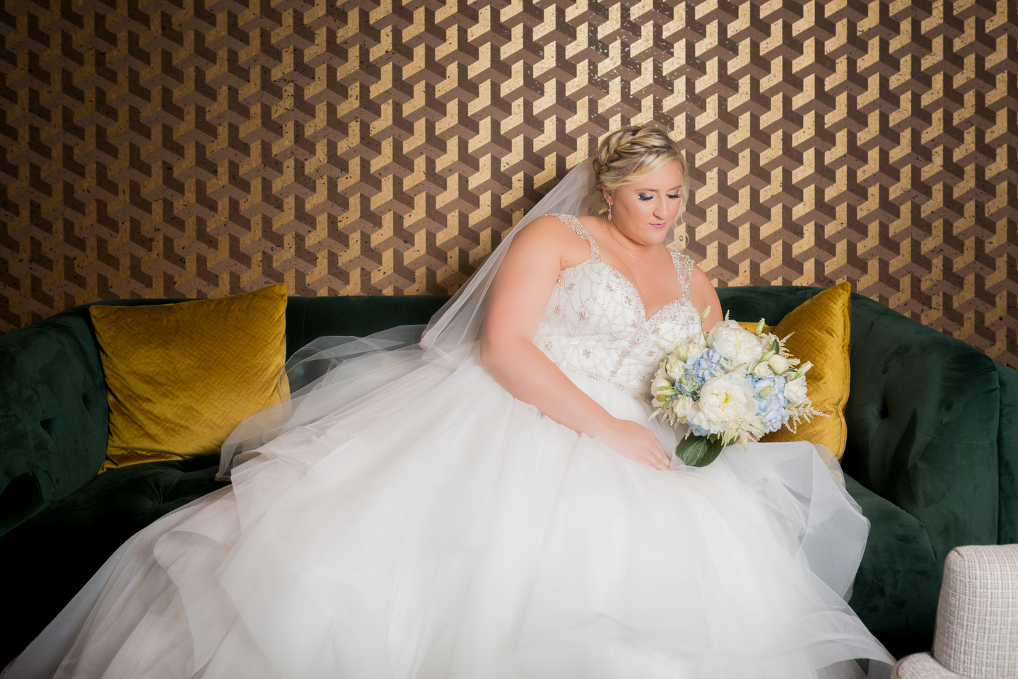 Bridal portrait: Charming & Fun Hutton Hotel Nashville Wedding
