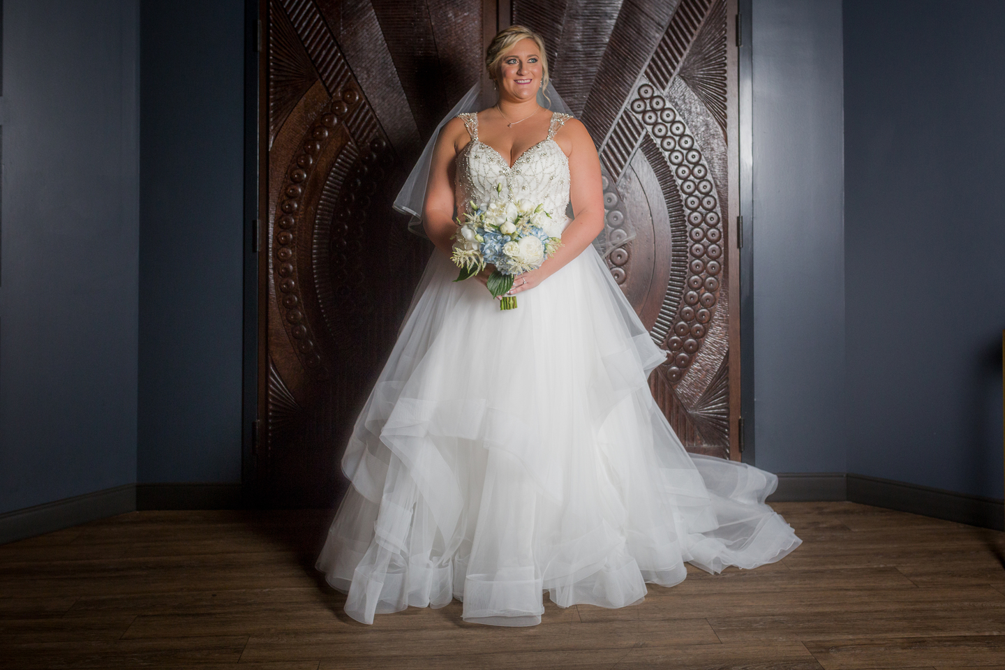 Wedding ball gown: Charming & Fun Hutton Hotel Nashville Wedding