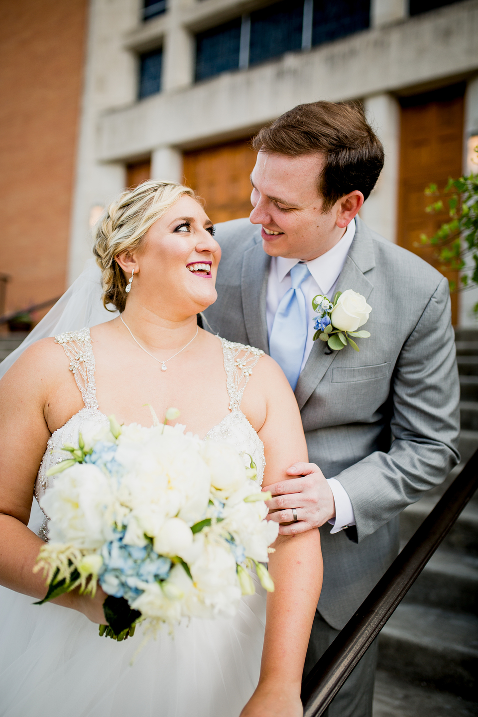 Charming Nashville wedding: Charming & Fun Hutton Hotel Nashville Wedding