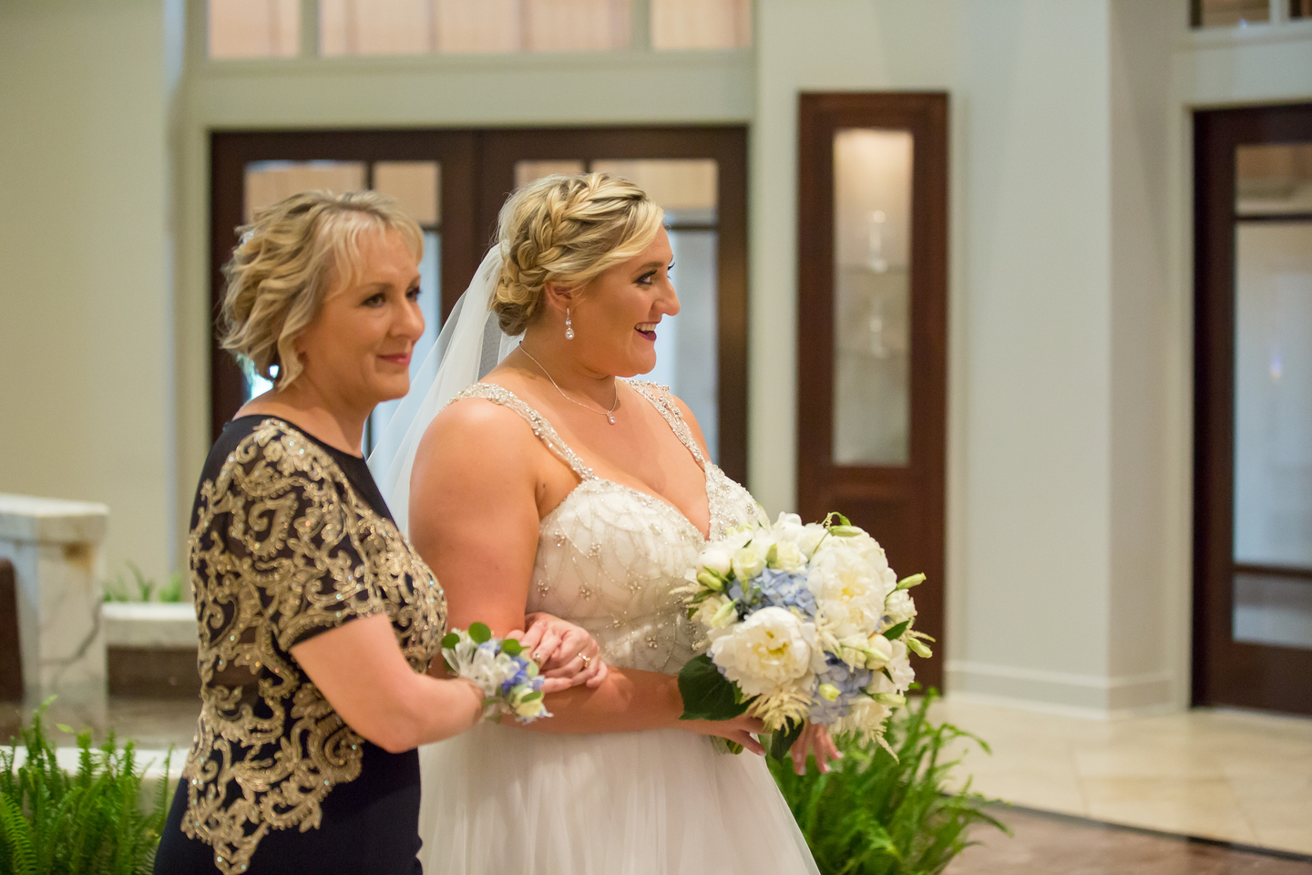 Wedding ceremony: Charming & Fun Hutton Hotel Nashville Wedding