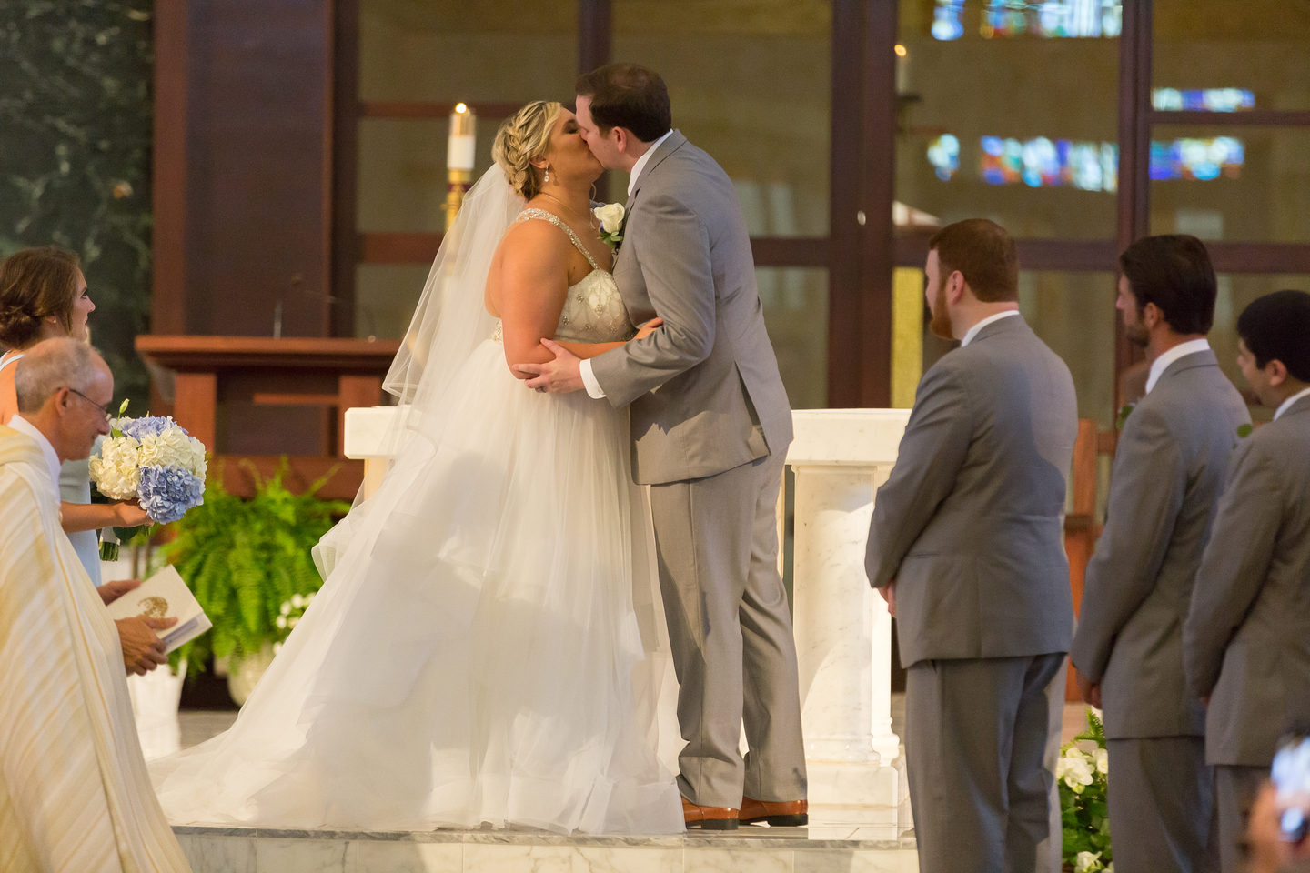 Wedding ceremony photography: Charming & Fun Hutton Hotel Nashville Wedding