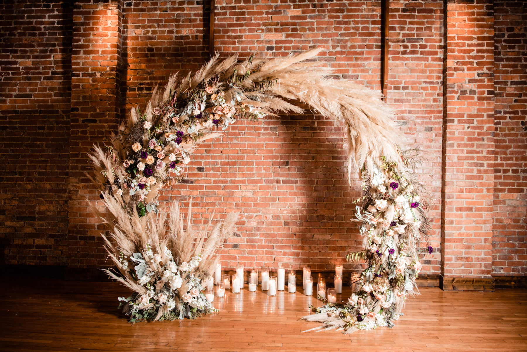 Wedding Floral Arch: Nashville wedding planner Amy & I Designs featured on Nashville Bride Guide