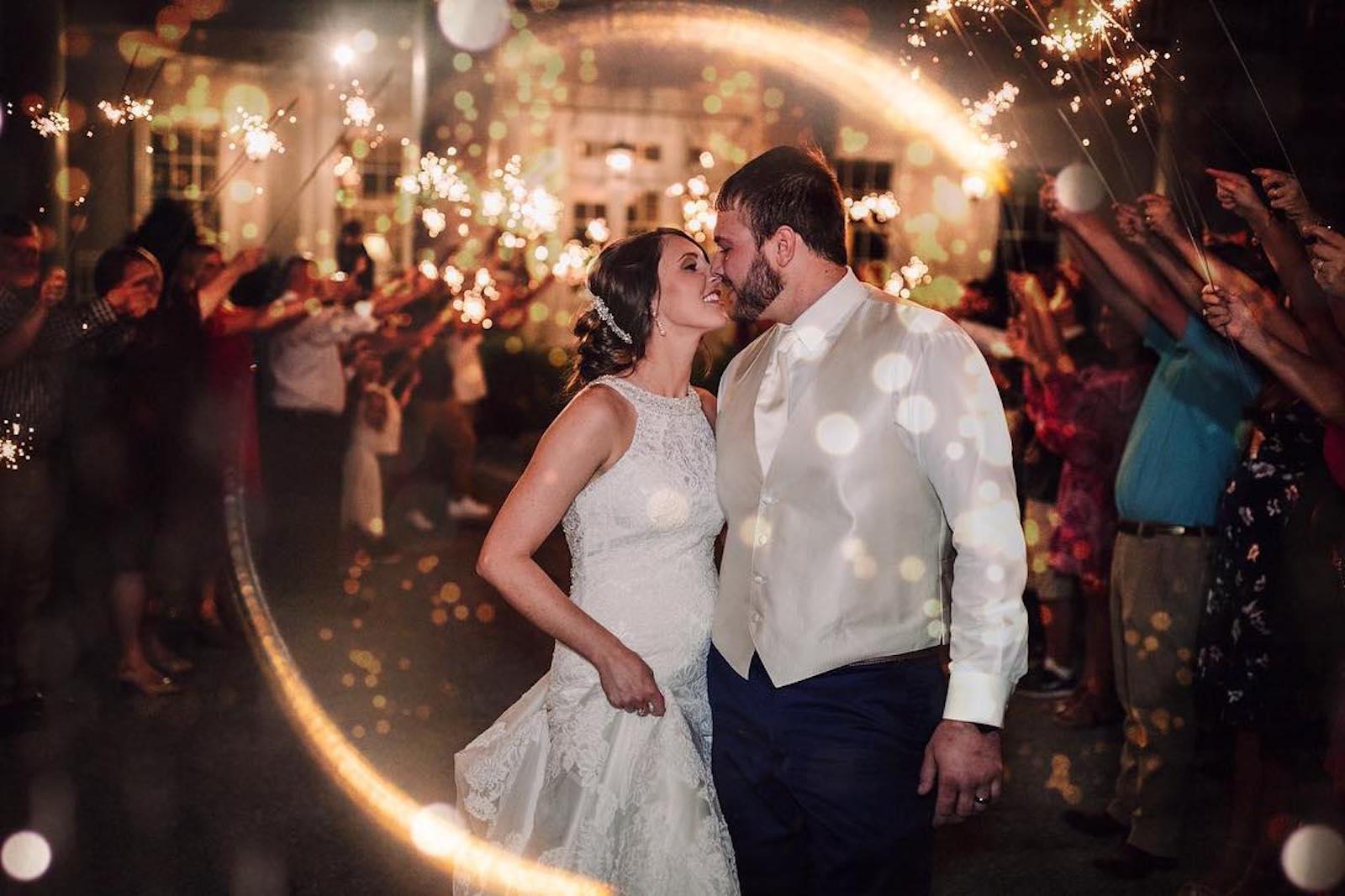 Wedding Exit Photo: Billie Shaye Style Nashville Wedding Discount