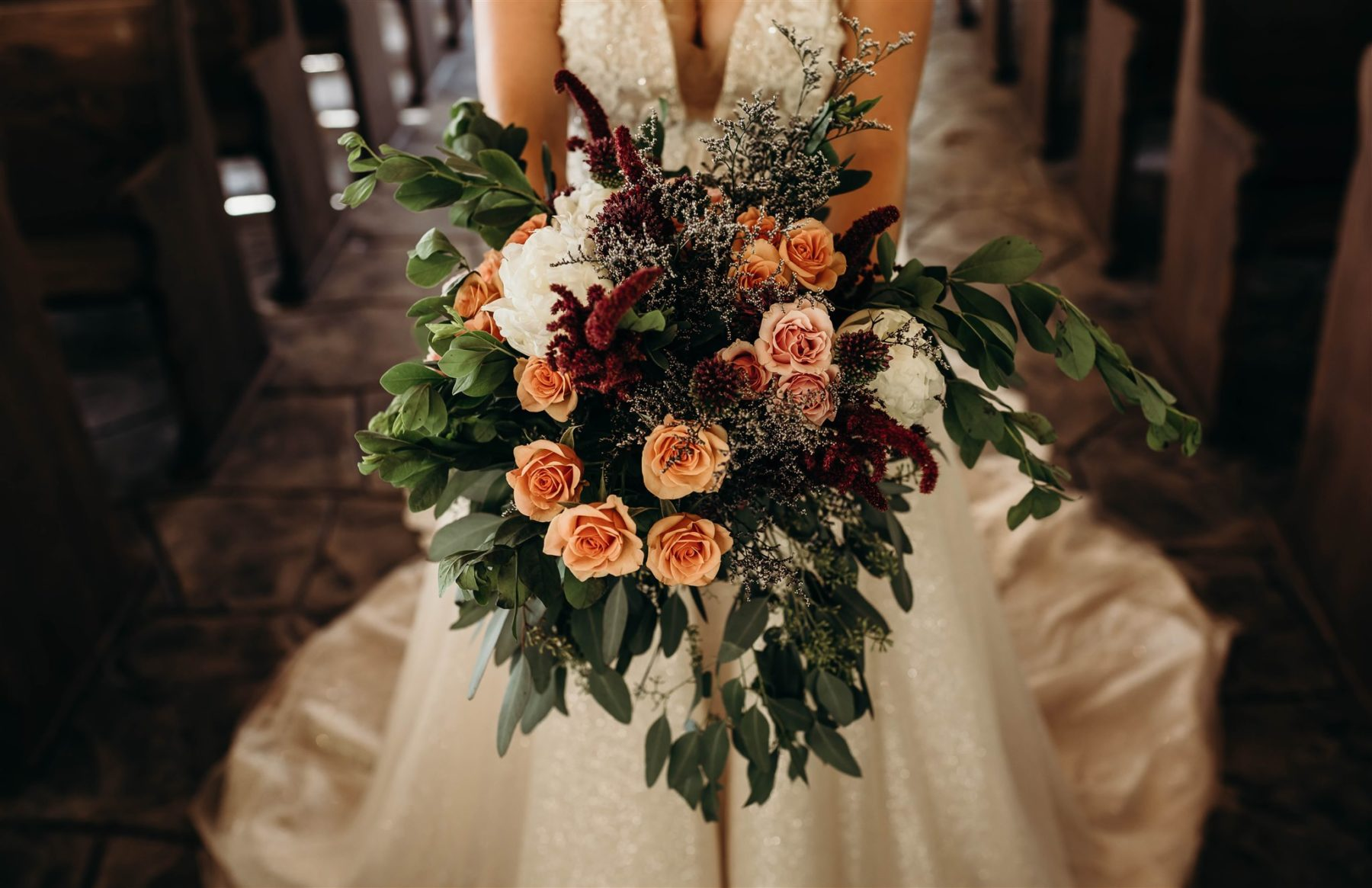 How to Add Color to Your Wedding with Flowers from Rachael Ann's Event Design featured on Nashville Bride Guide