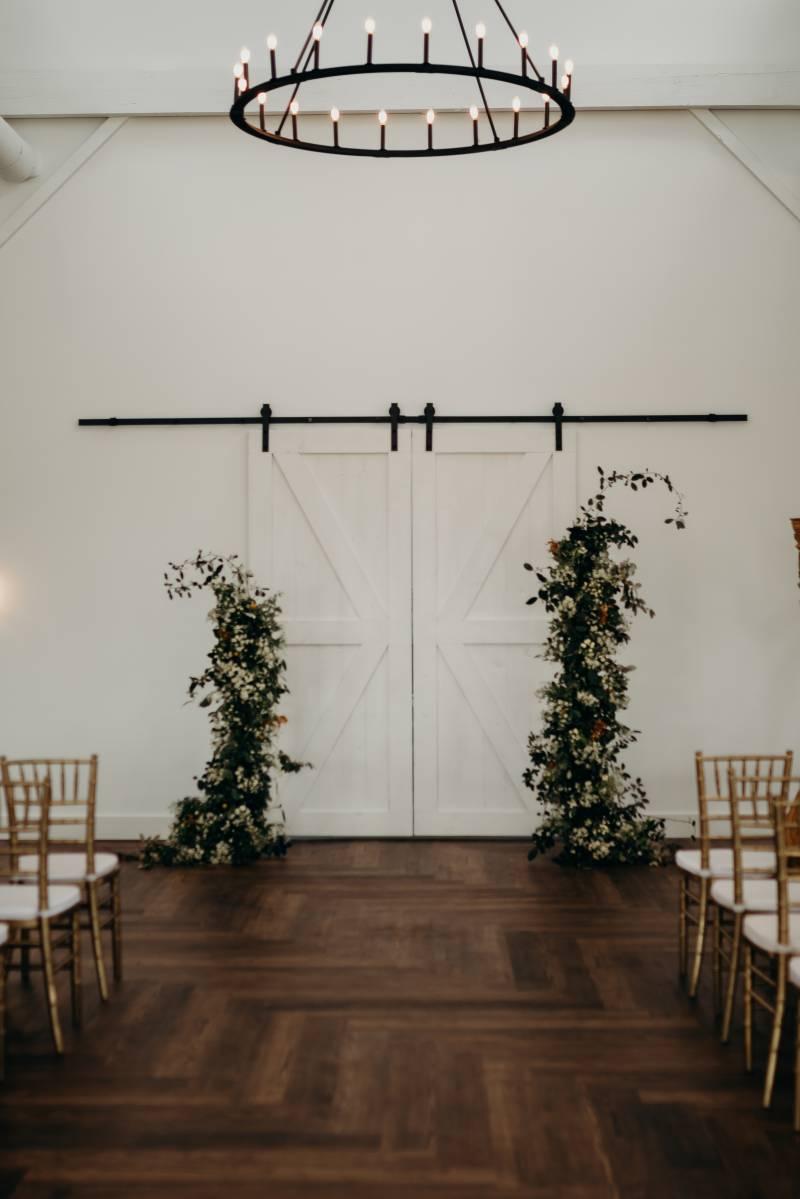 Wedding ceremony decor: Bridal shoes: Nashville Tennessee Styled Shoots Across America Wedding Inspiration