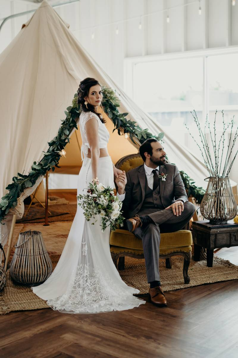 Bridal shoes: Nashville Tennessee Styled Shoots Across America Wedding Inspiration