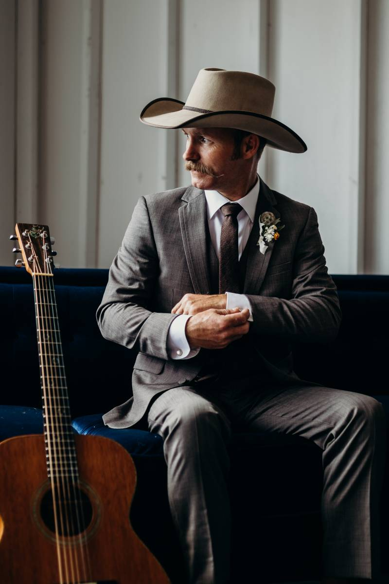 Nashville grooms portrait: Bridal shoes: Nashville Tennessee Styled Shoots Across America Wedding Inspiration