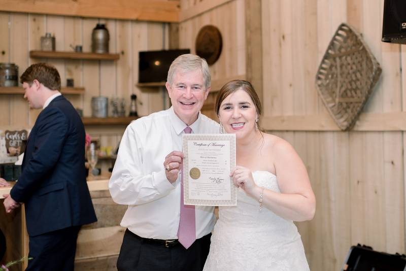 Hidden Creek Farm Wedding featured on Nashville Bride Guide
