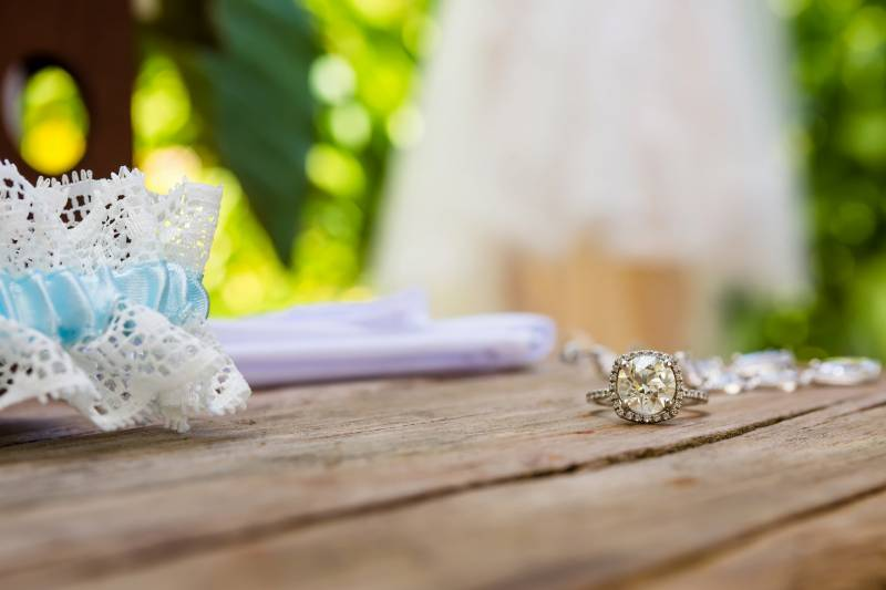Engagement ring: Belize destination wedding featured on Nashville Bride Guide