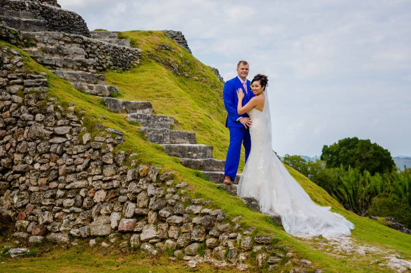 Belize destination wedding featured on Nashville Bride Guide