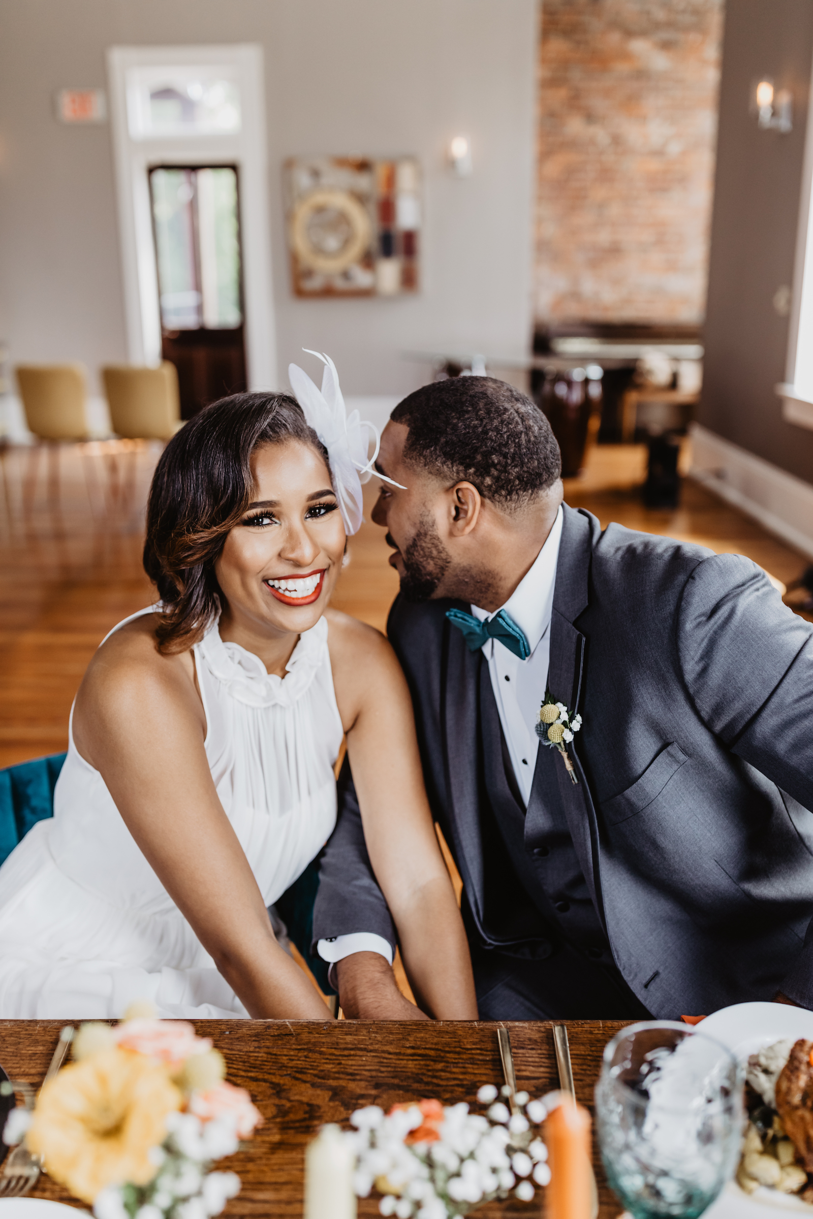 Wedding portrait: Music City Merger Styled Shoot featured on Nashville Bride Guide