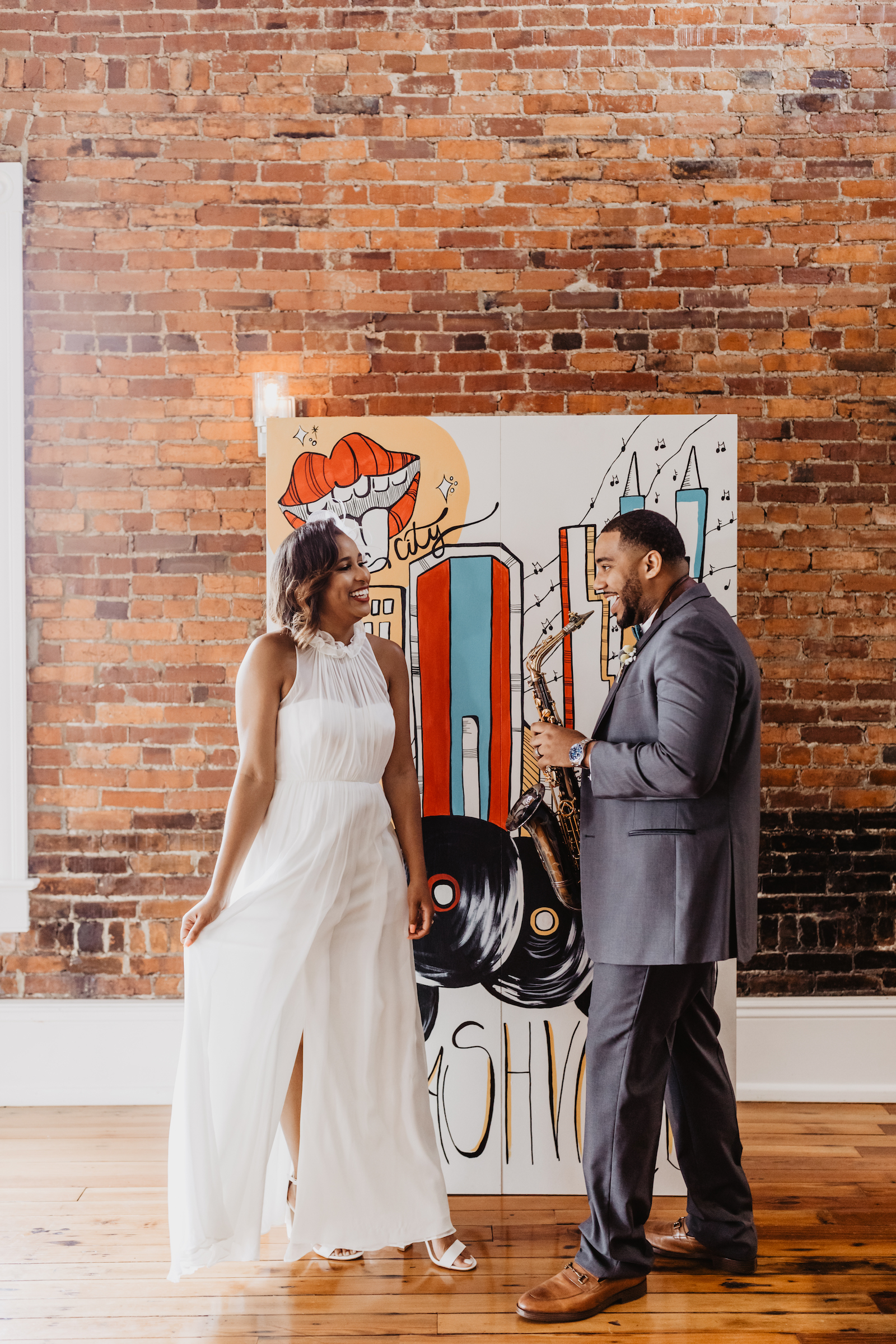 Modern wedding inspiration: Music City Merger Styled Shoot featured on Nashville Bride Guide