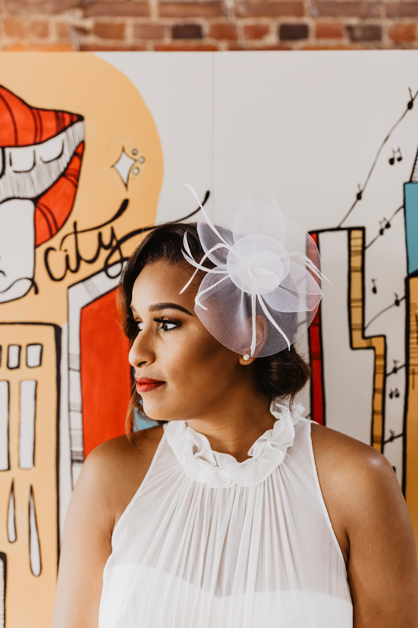 Bridal hair accessories: Music City Merger Styled Shoot featured on Nashville Bride Guide