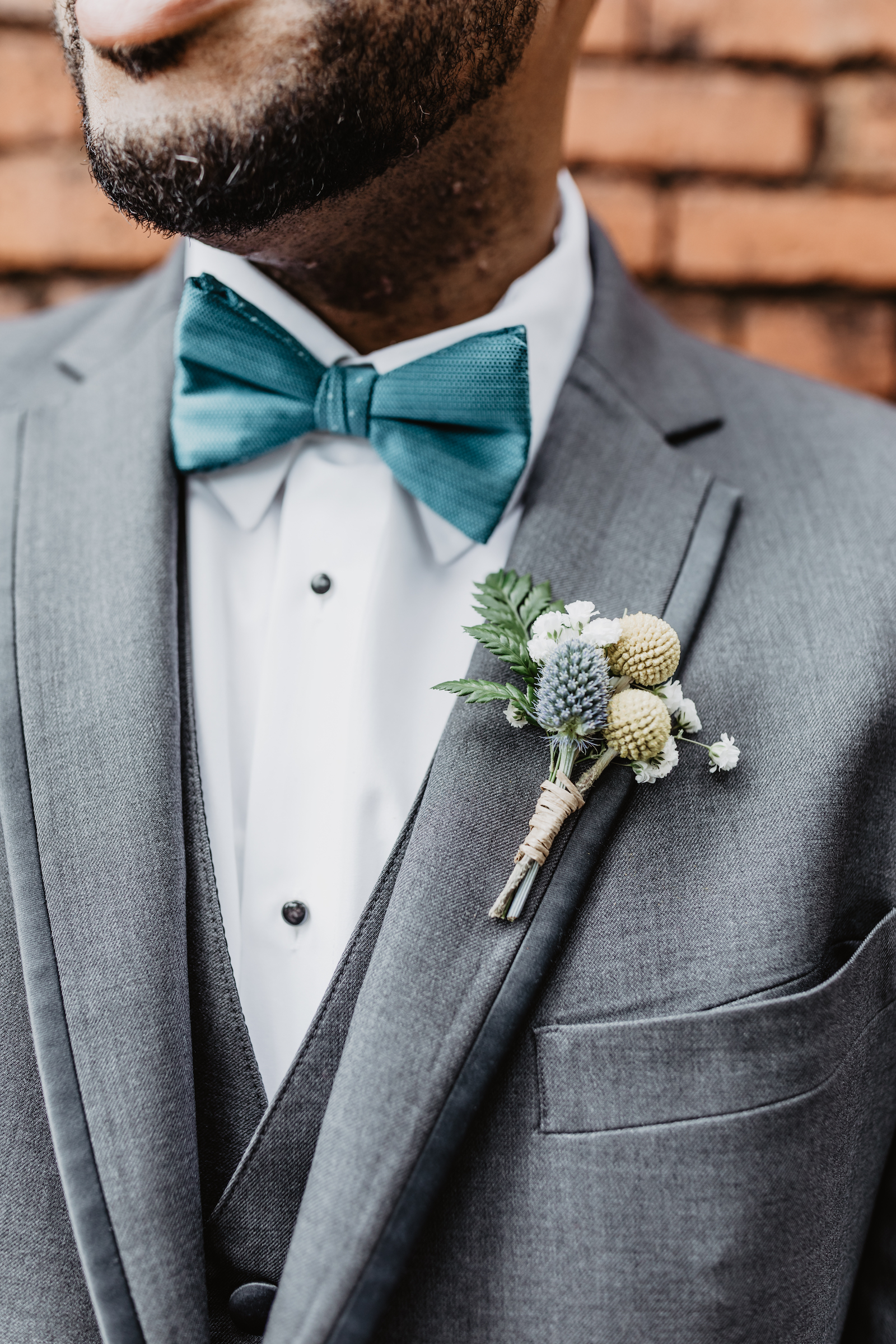 Grooms attire: Music City Merger wedding inspiration featured on Nashville Bride Guide