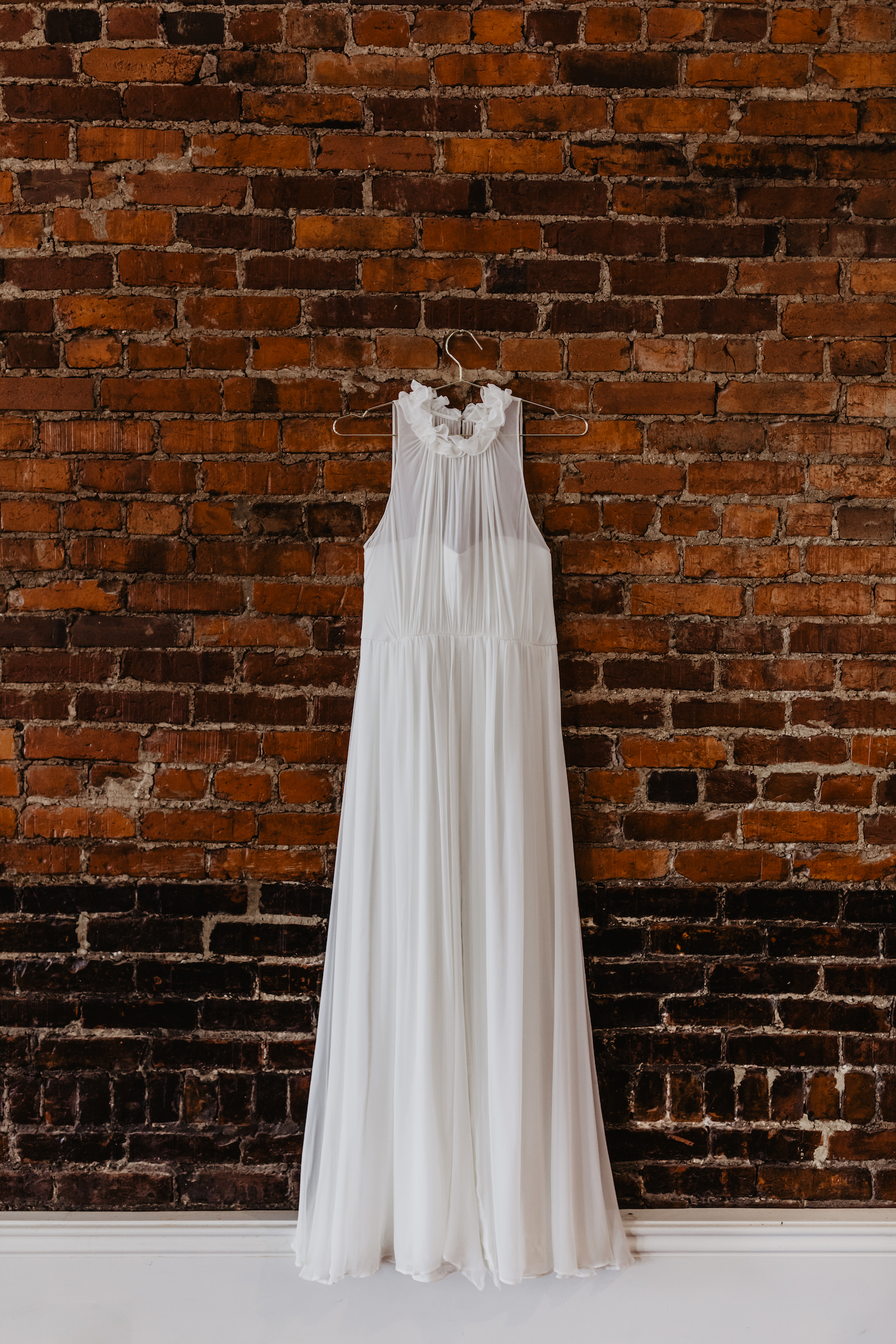 Elegant wedding dress for wedding styled shoot featured on Nashville Bride Guide