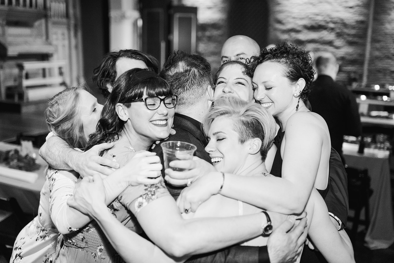Candid wedding moments: Nashville wedding at Clementine featured on Nashville Bride Guide