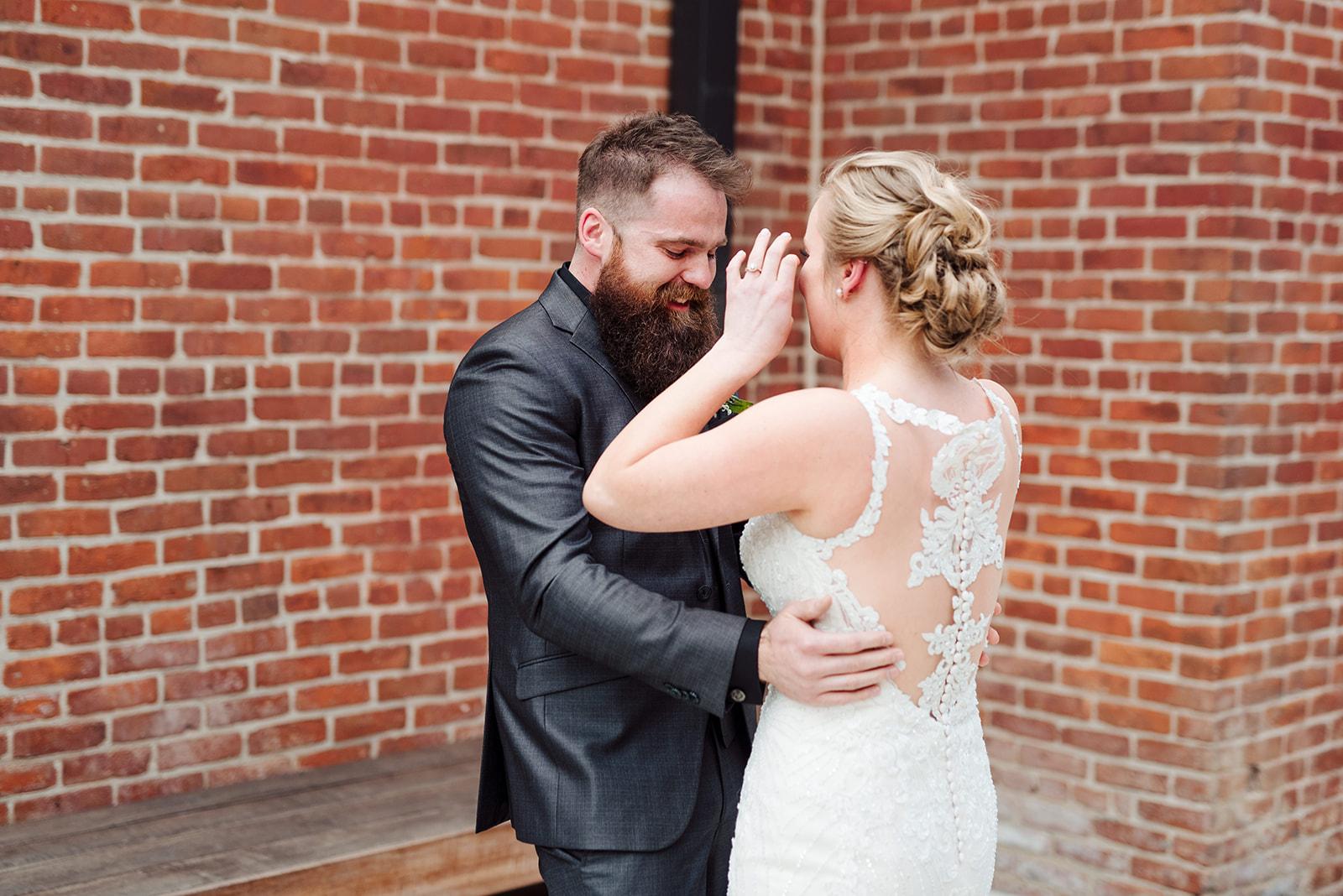 First look: Nashville wedding at Clementine featured on Nashville Bride Guide