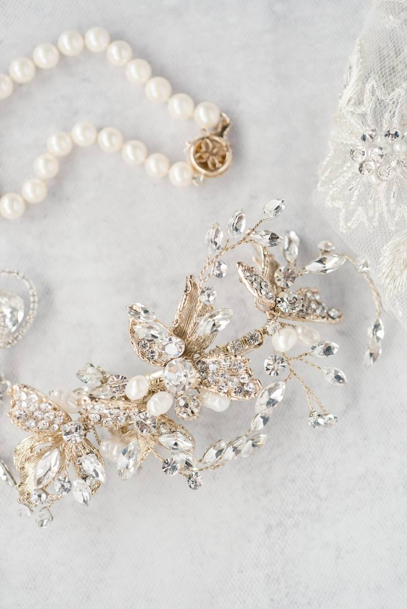 Bridal accessories: Bell Tower Wedding featured on Nashville Bride Guide