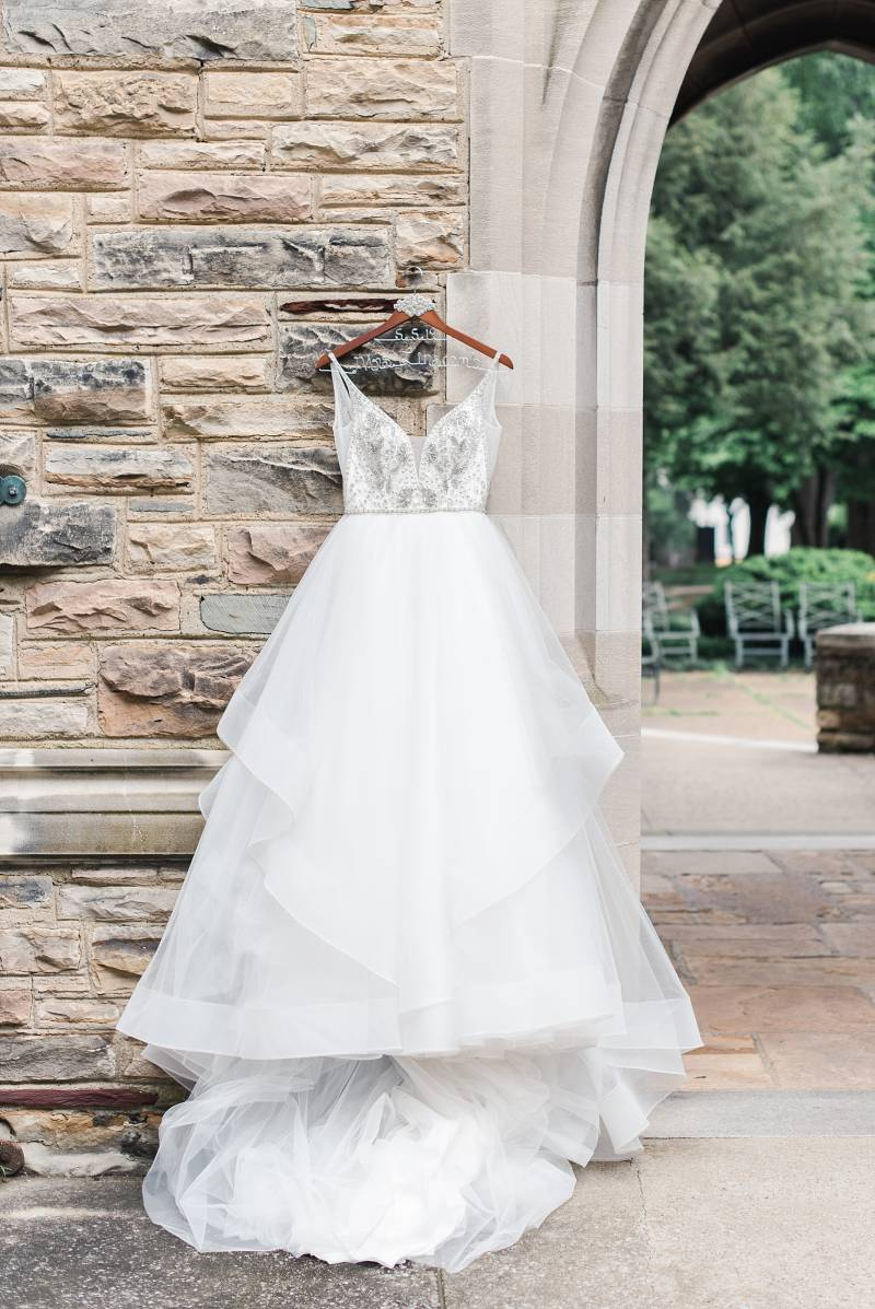 Ball gown wedding dress: Bell Tower Wedding featured on Nashville Bride Guide