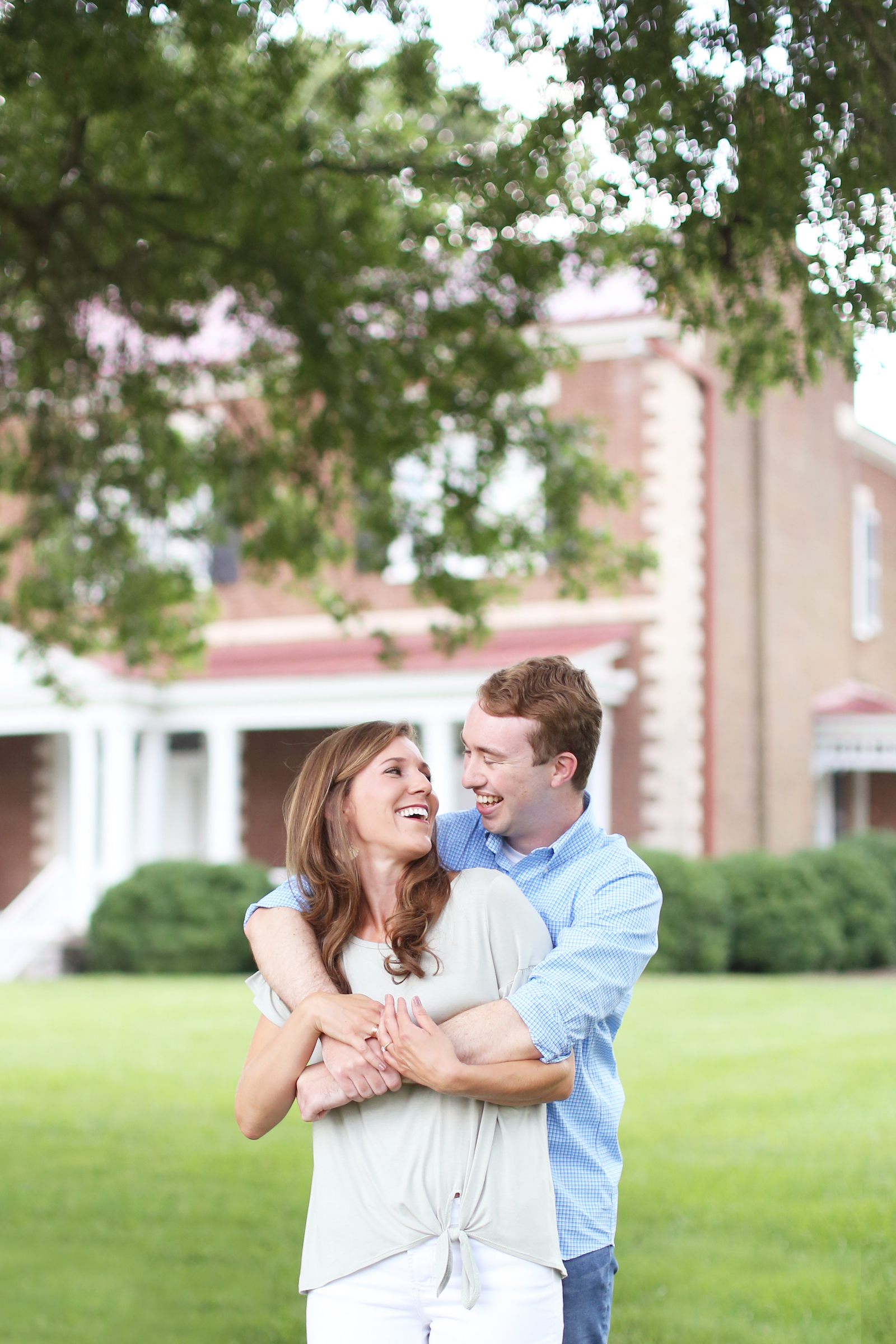 Charming Engagement Session featured on Nashville Bride Guide