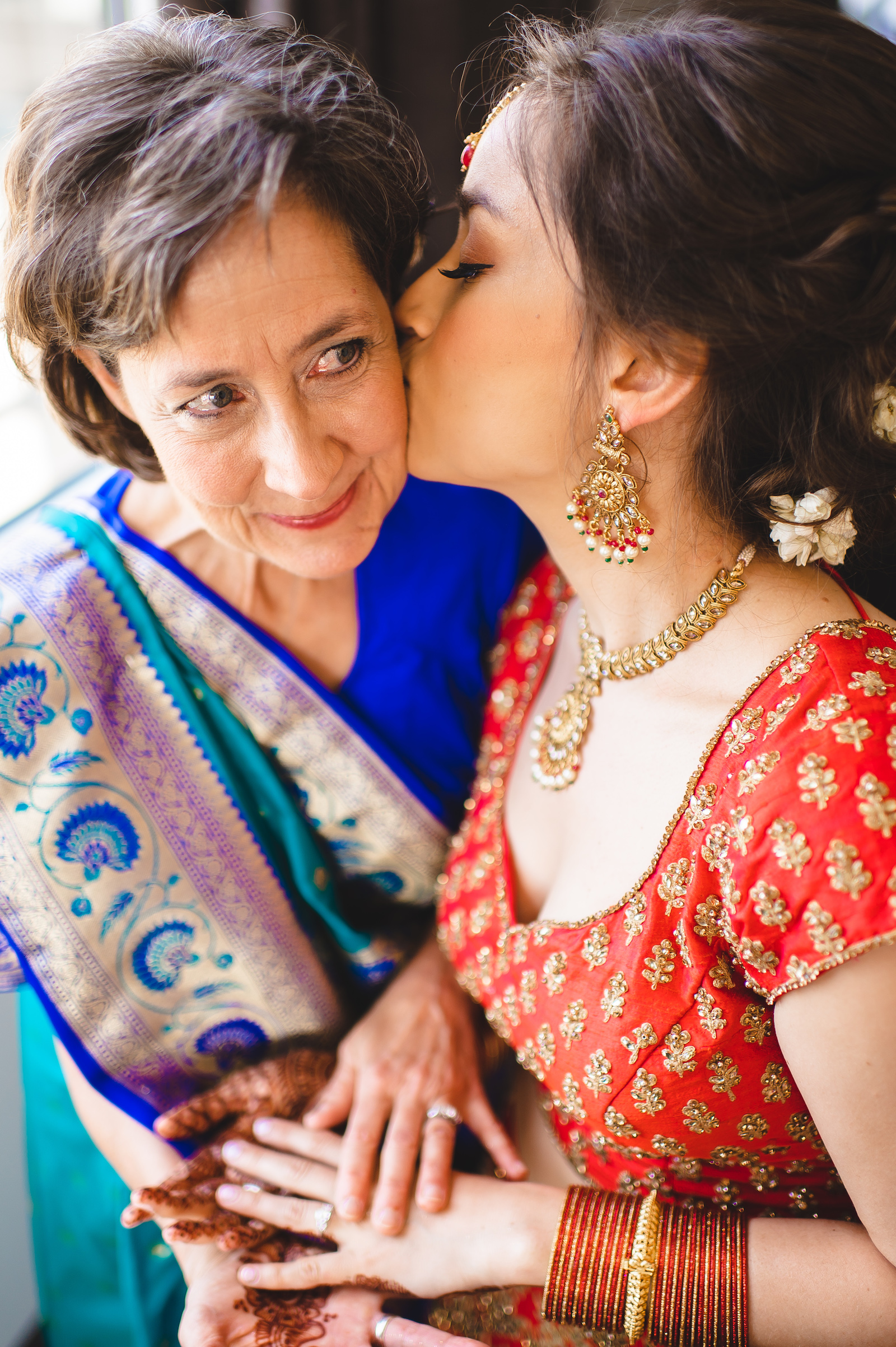 Mother of the bride and bride: Charming Indian Wedding featured on NBG blog!