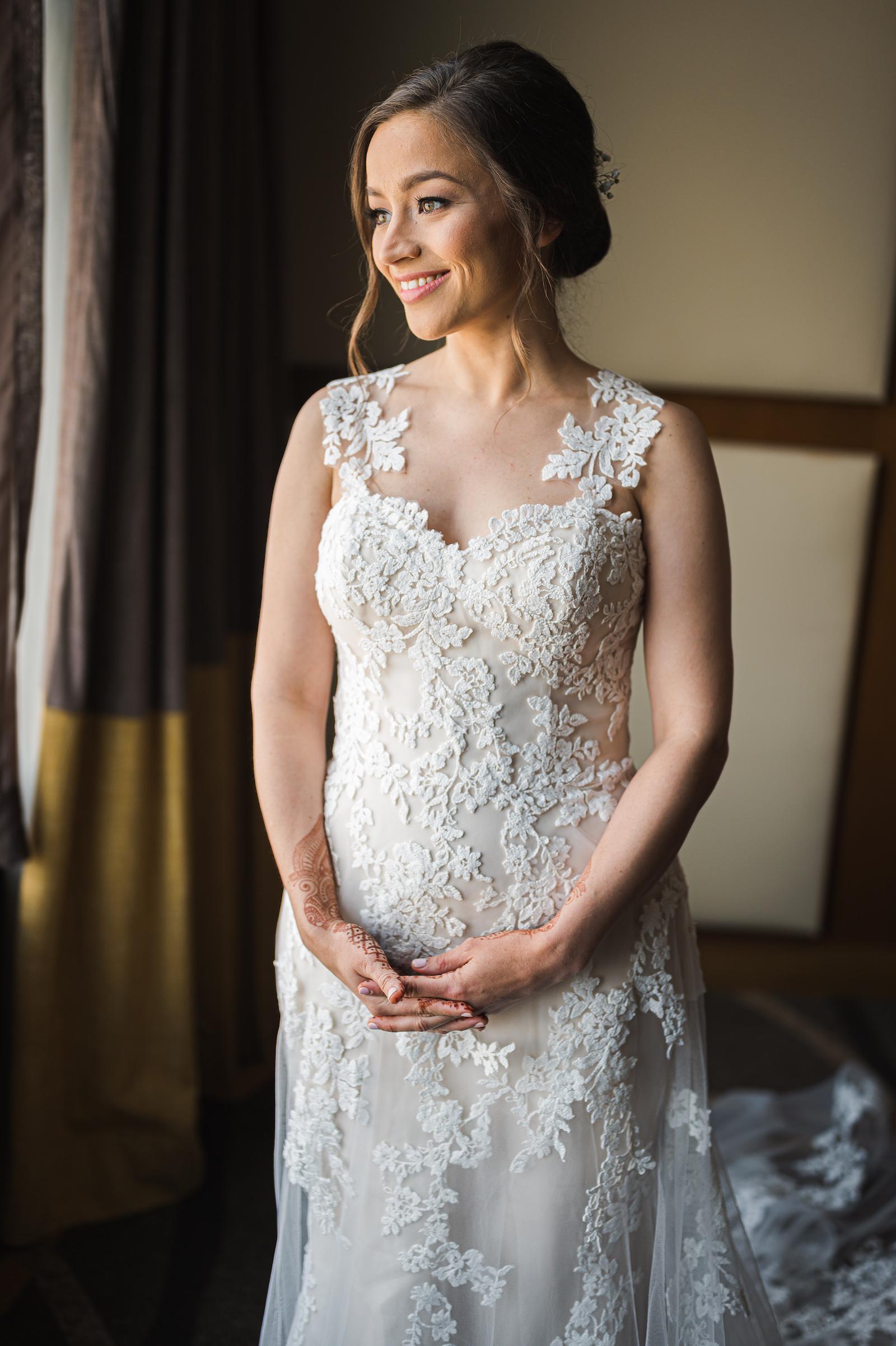 Bridal dress: Charming Indian Wedding featured on Nashville Bride Guide