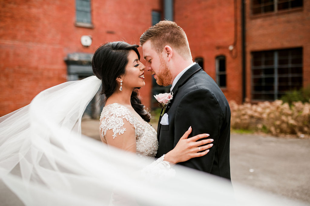Creative wedding photography: Wedding at The Mill captured by John Myers Photography featured on Nashville Bride Guide