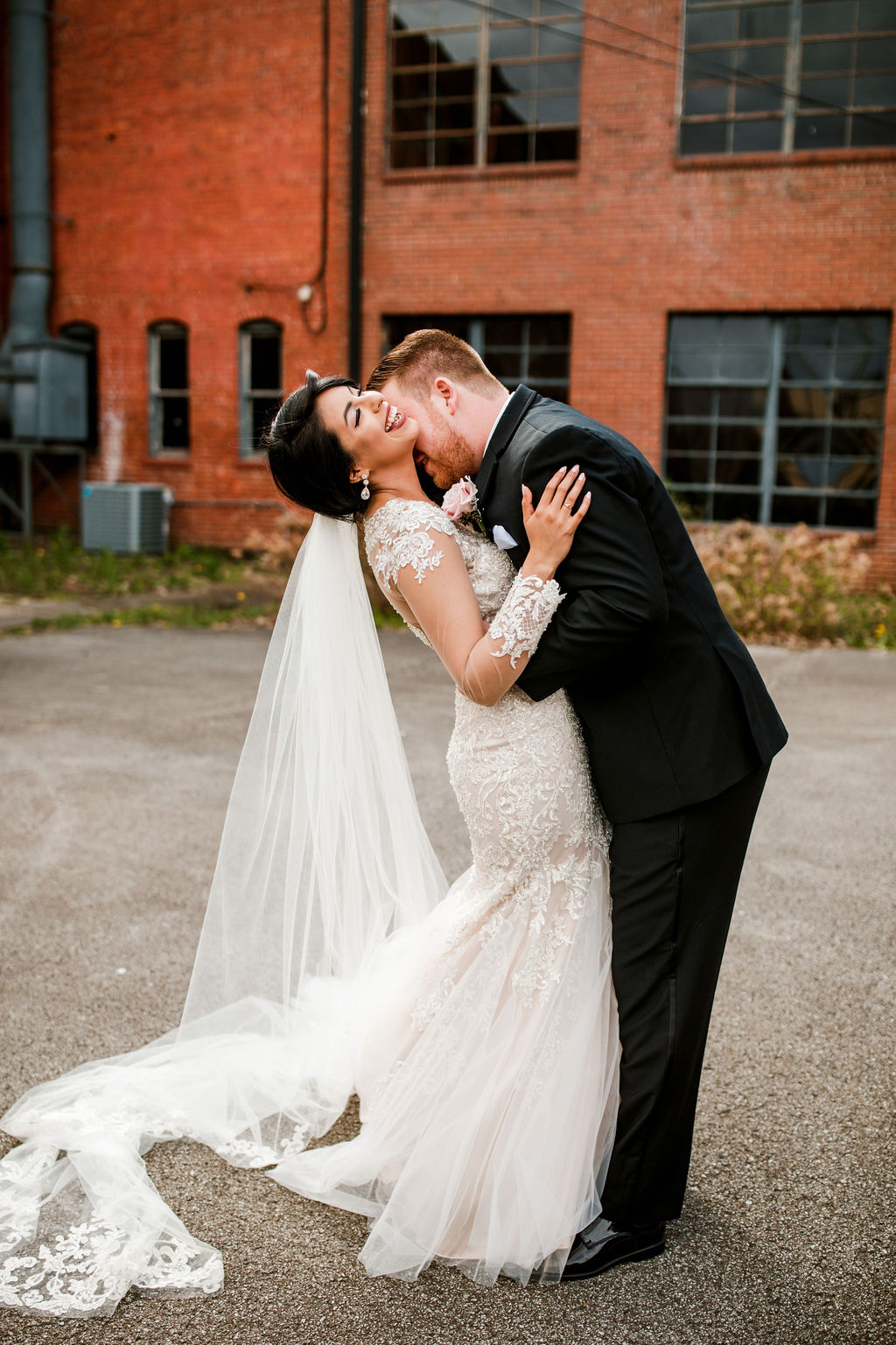 Romantic wedding photos: Wedding at The Mill captured by John Myers Photography featured on Nashville Bride Guide