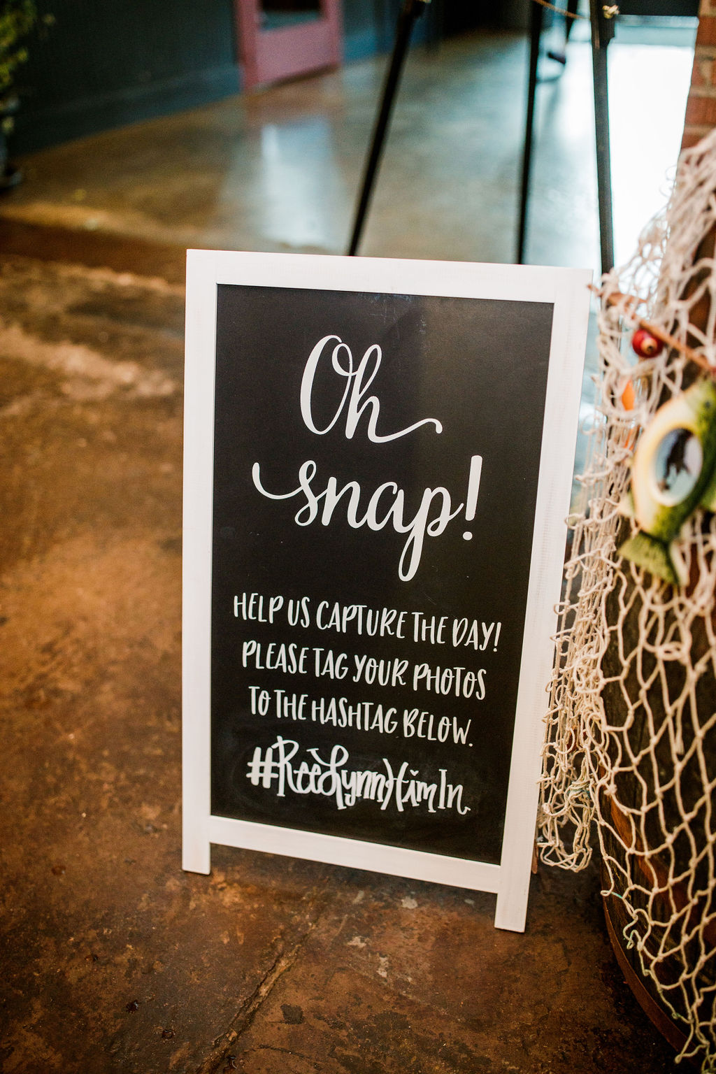Wedding sign inspiration: Wedding at The Mill captured by John Myers Photography featured on Nashville Bride Guide