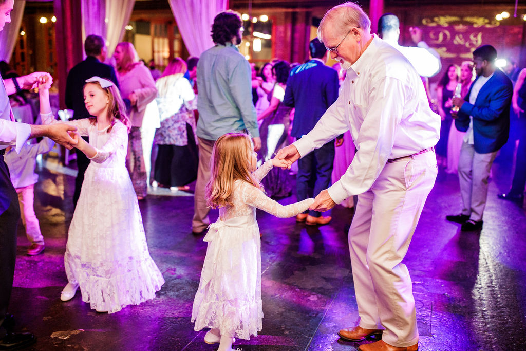 Wedding dancing: Wedding at The Mill captured by John Myers Photography featured on Nashville Bride Guide