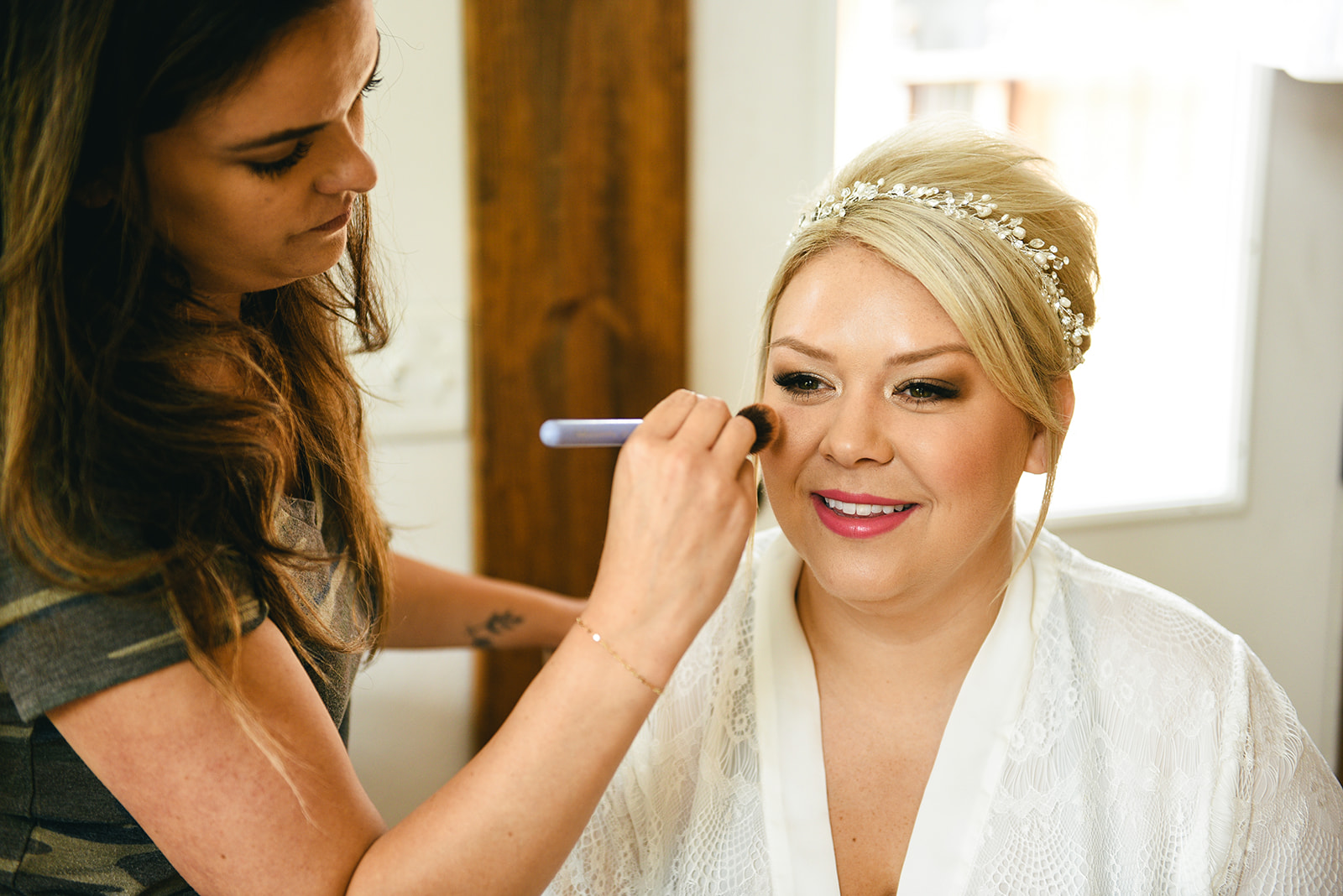 Bridal makeup: Elegant Cason Cove Wedding featured on Nashville Bride Guide