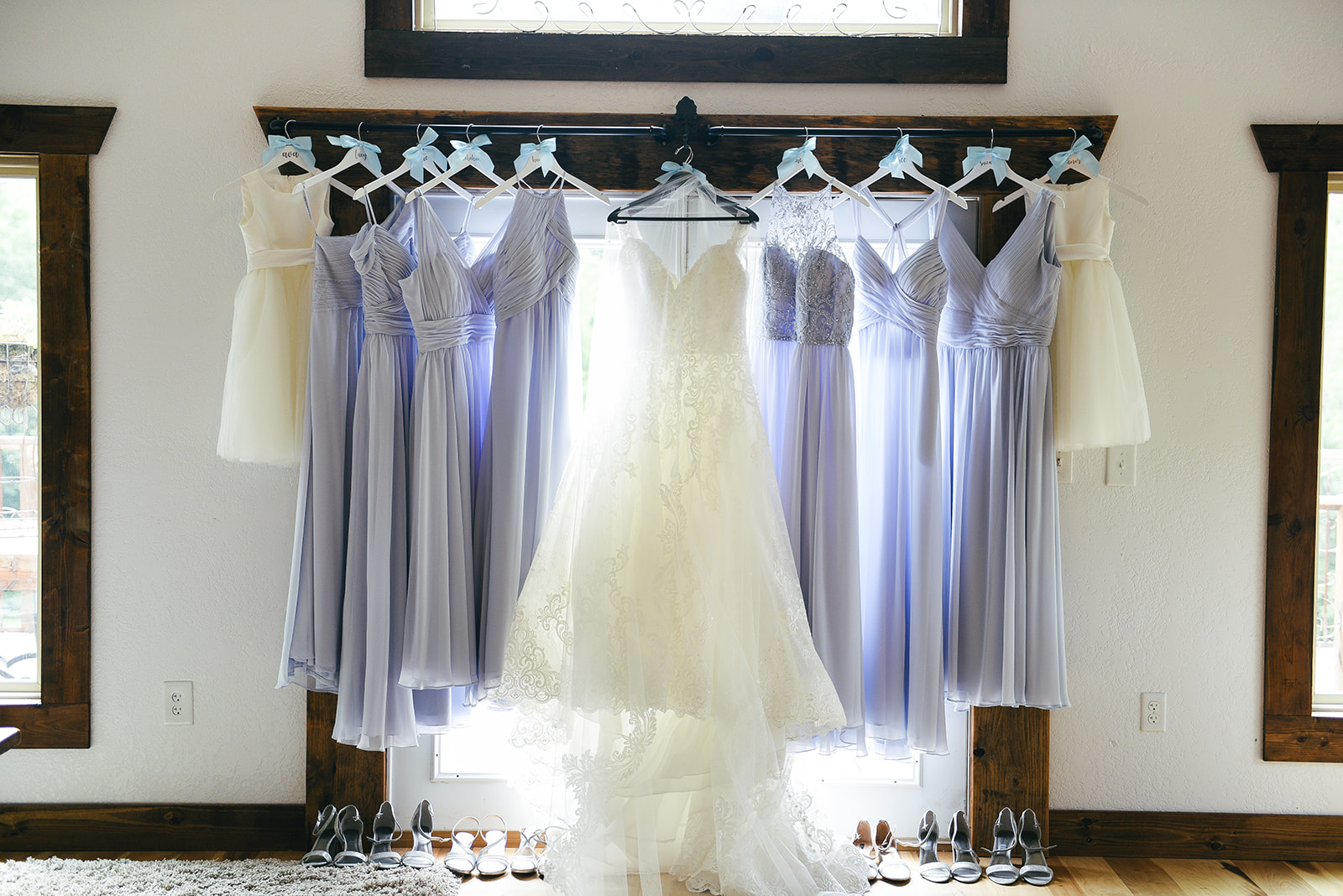 Light blue bridesmaid dresses: Elegant Cason Cove Wedding featured on Nashville Bride Guide