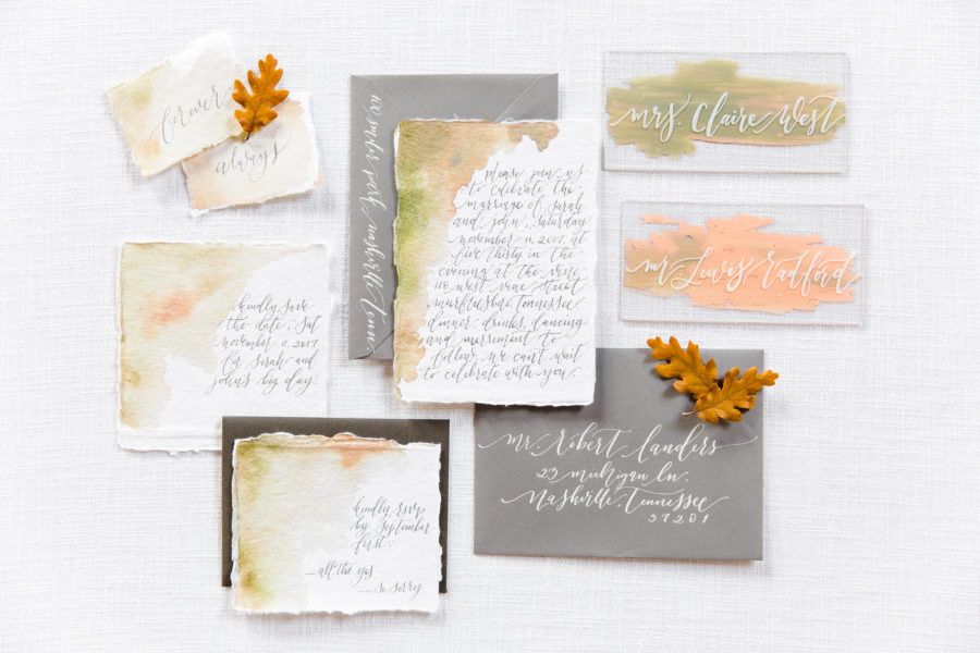 Wedding Invitation Suite: What Every Wedding Photographer Loves to Photograph