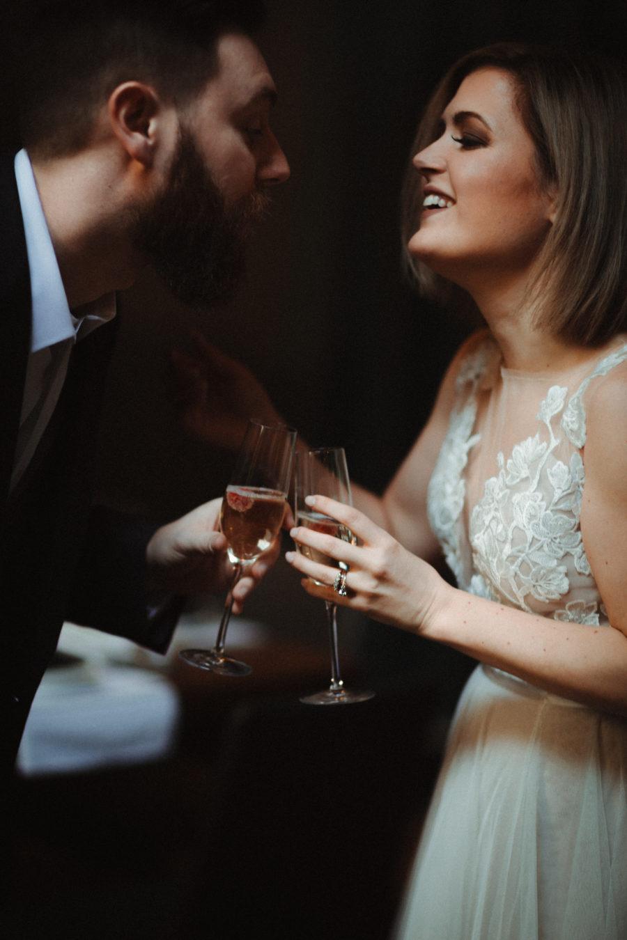 Champagne toast: Nashville brunch elopement featured on Nashville Bride Guide