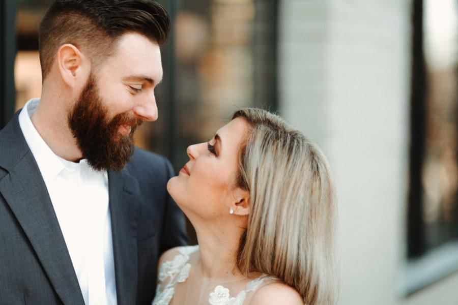 Wedding portrait: Nashville brunch elopement featured on Nashville Bride Guide