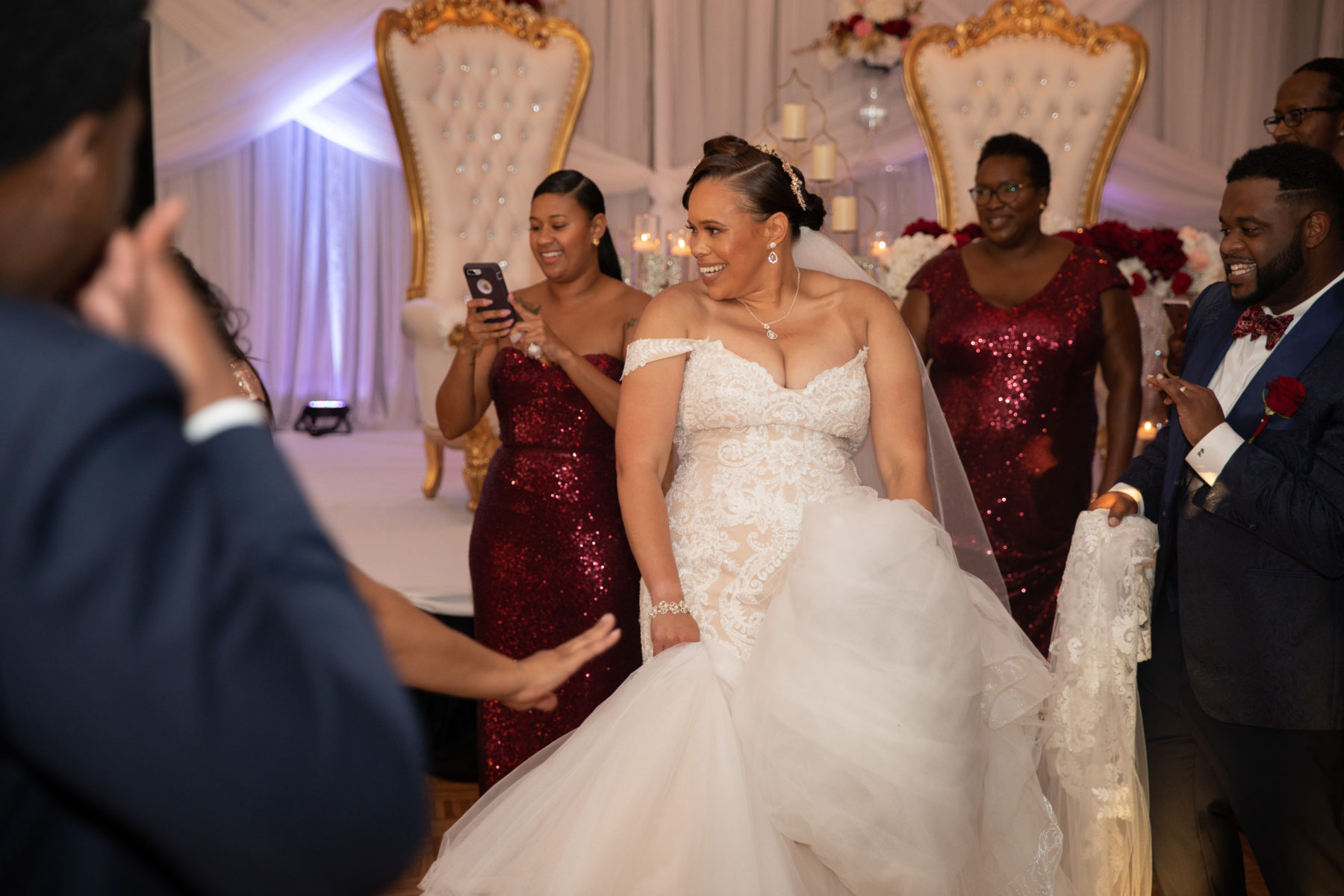 Bride Dancing: Luxurious Stone Rivers Country Club Wedding featured on Nashville Bride Guide