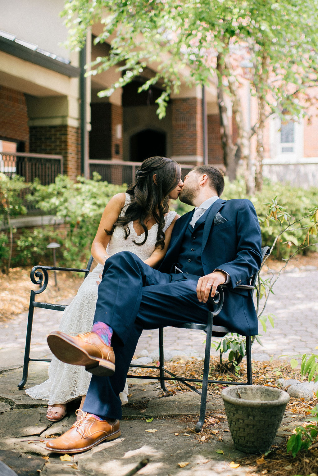 Wedding first look photo ideas for Intimate Nashville Wedding